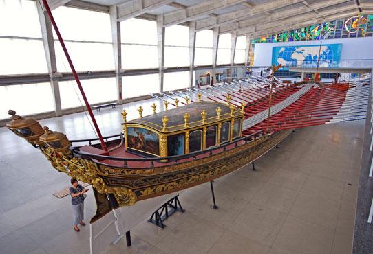 Display at the Maritime Museum