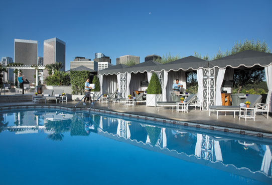 Pool at The Peninsula, Beverly Hills